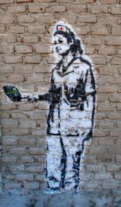 Schwester Street Art